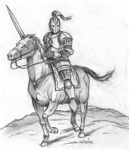 AlanaKalanian warrior on horseback..