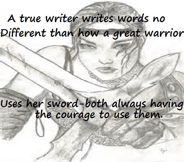 courage warrior