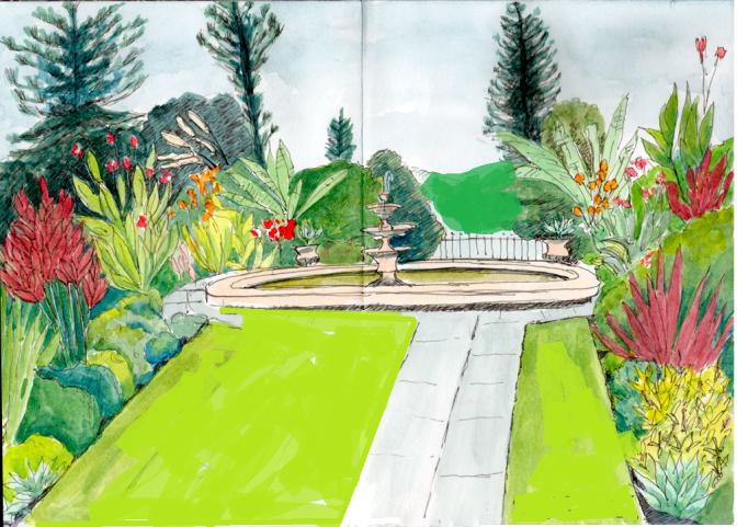 queen araxi's garden